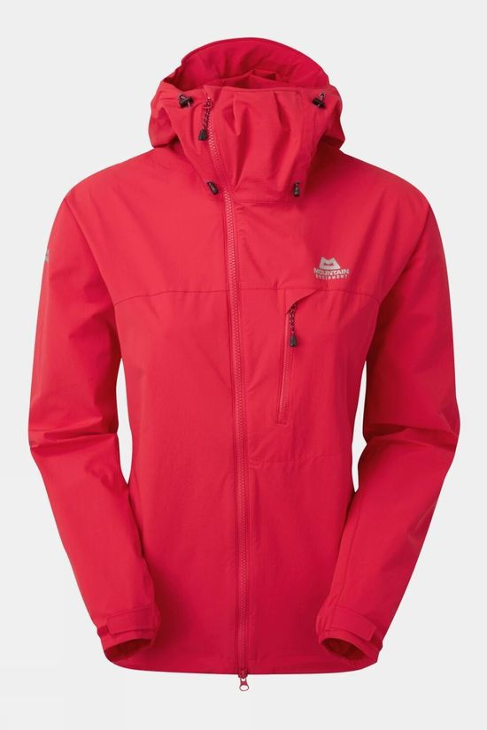 Mountain Equipment Womens Squall Hooded Jacket Capsicum Red