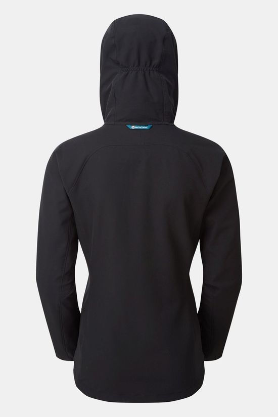 Montane Womens Orbit Stretch Jacket Black/Zanskar Blue