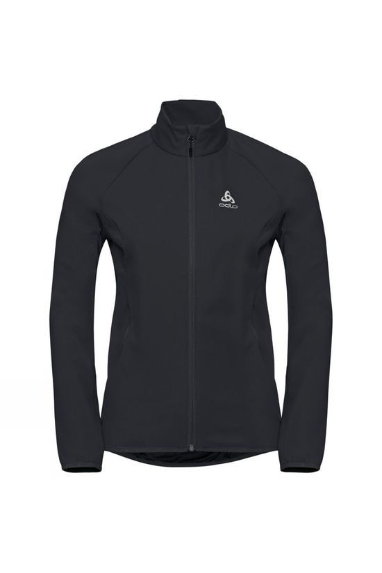 Odlo Womens Aeolus Element Jacket Black