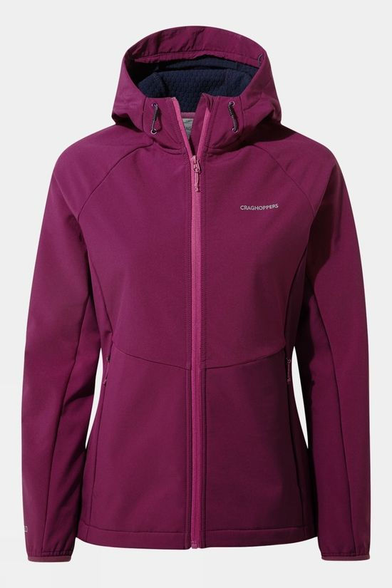 Craghoppers Womens Kalti Weatherproof Jacket Blackcurrant