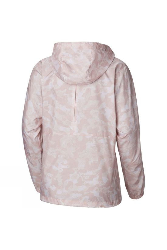 Columbia Womens Flash Forward Printed Windbreaker Jacket Mineral Pink Camo
