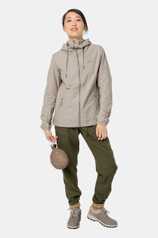 Jack Wolfskin Womens Lakeside Jacket Dusty Grey