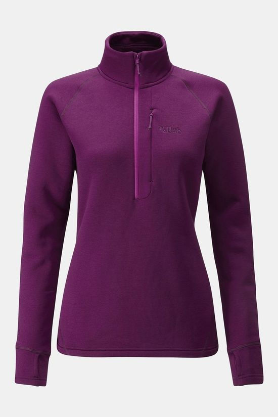 Rab Womens Power Stretch Pro Pull-On Berry