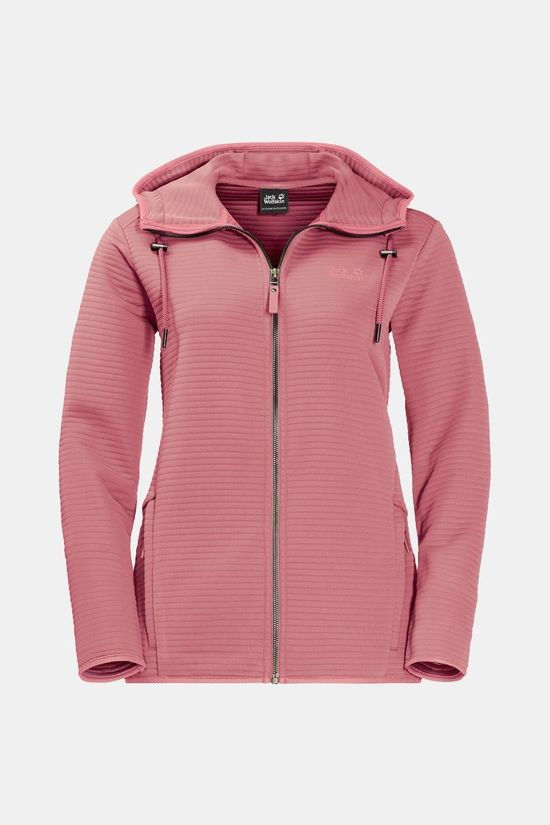 Jack Wolfskin Womens Modesto Hooded Jacket Rose Quartz