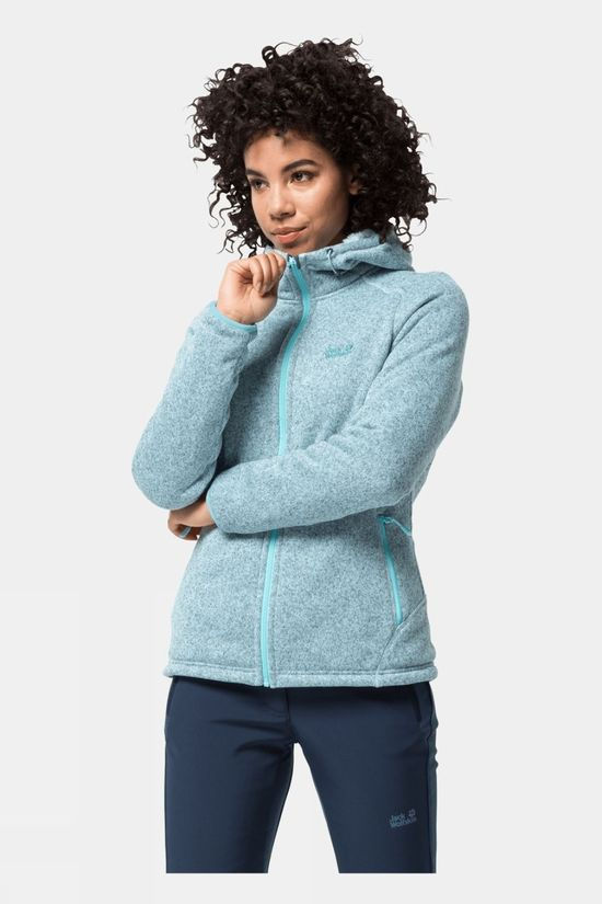 Jack Wolfskin Womens Lakeland Jacket Frosted Blue