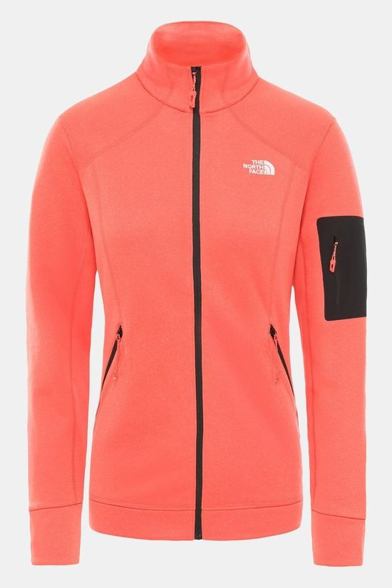 The North Face Womens Impendor Powerdry Jacket Cayenne Red Light Heather
