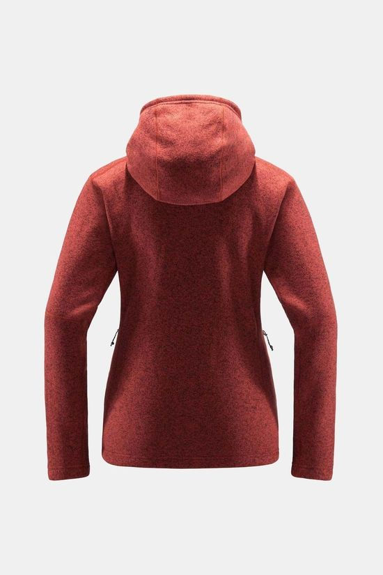 Haglofs Womens Swook Hood Brick red
