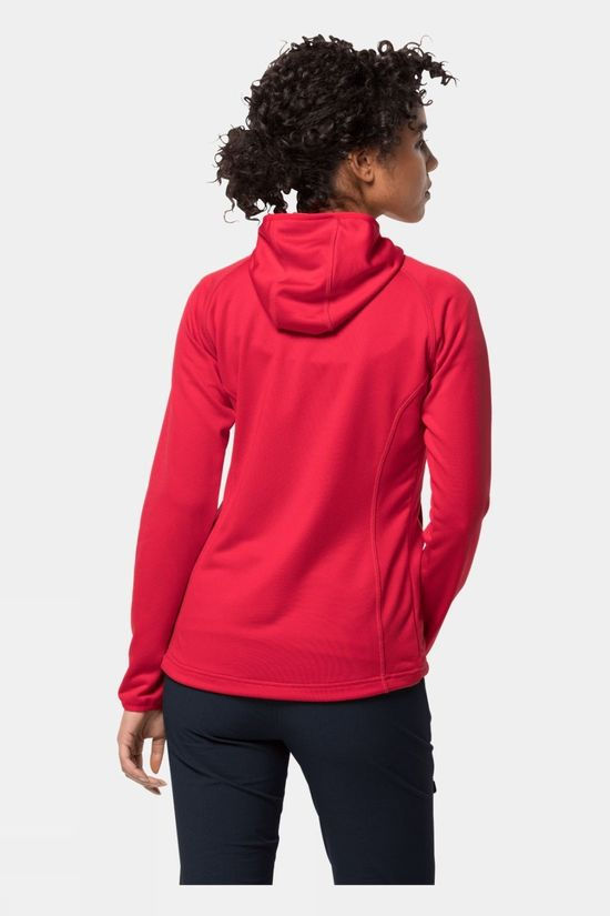 Jack Wolfskin Womens Star Jacket Clear Red