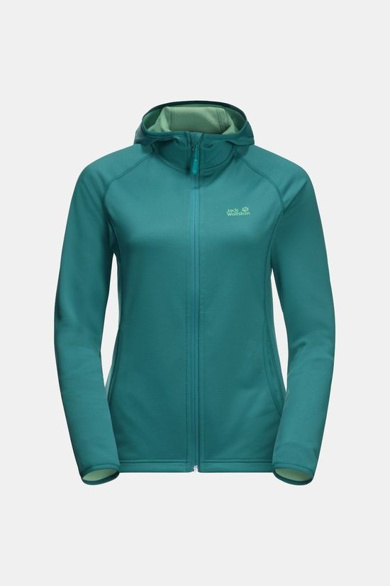 Jack Wolfskin Womens Star Jacket Emerald Green