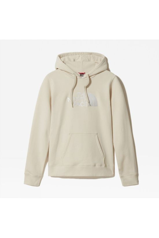 The North Face Womens Drew Peak Pullover Hoodie Vintage White/TNF White