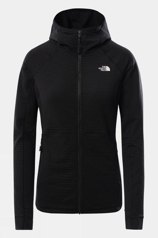 The North Face Womens Circadian Midlayer Hoodie TNF BLACK