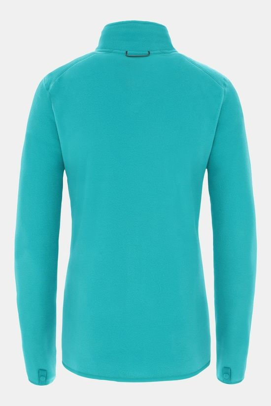 The North Face Womens 100 Glacier Full Zip Fleece Jaiden Green