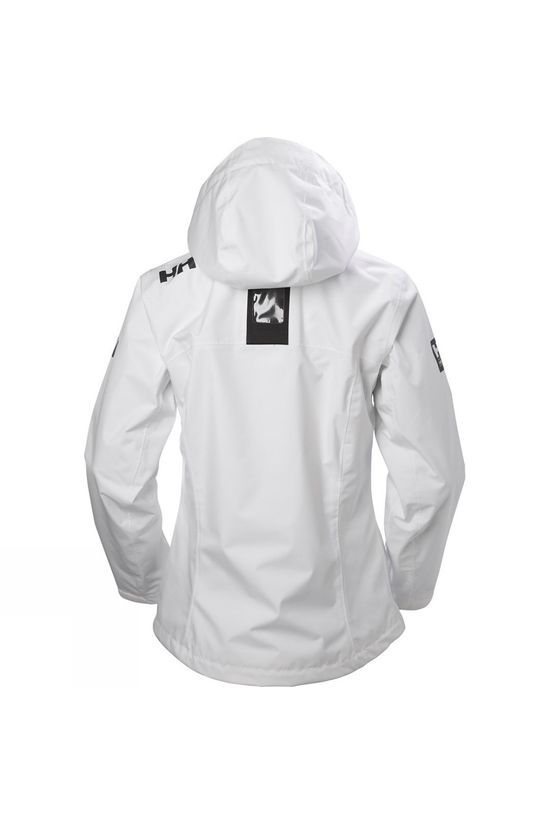 Helly Hansen Womens Crew Hooded Jacket White