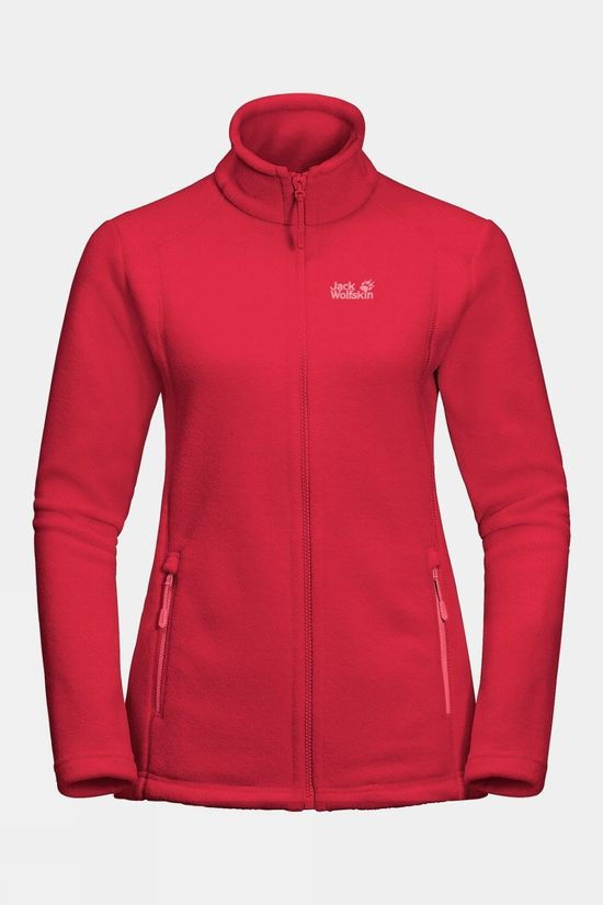 Jack Wolfskin Womens Midnight Moon Clear Red