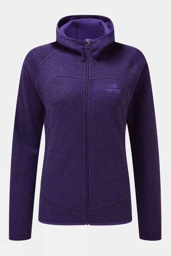 Mountain Equipment Womens Kore Hooded Jacket Tyrian Purple