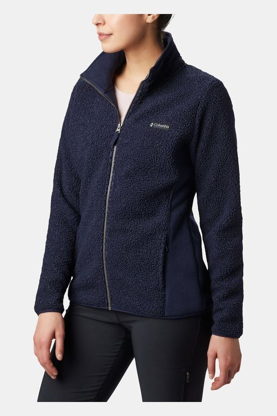 Columbia Womens Panorama Full Zip Fleece Dark Nocturnal