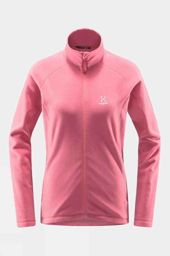 Haglofs Womens Astro Fleece Tulip Pink