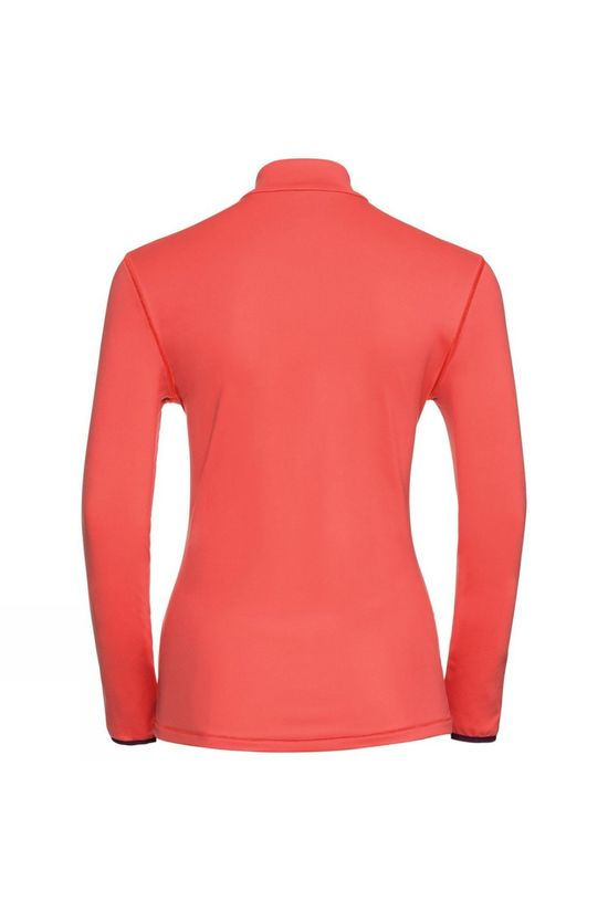 Odlo Womens Alagna Full Zip Midlayer Hot Coral
