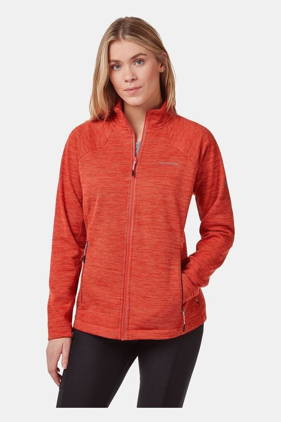 Craghoppers Womens Stromer Fleece Rio Red