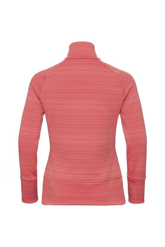 Odlo Womens Silvretta Ceramiwarm 1/2 Zip Midlayer Faded Rose - AOP FW19