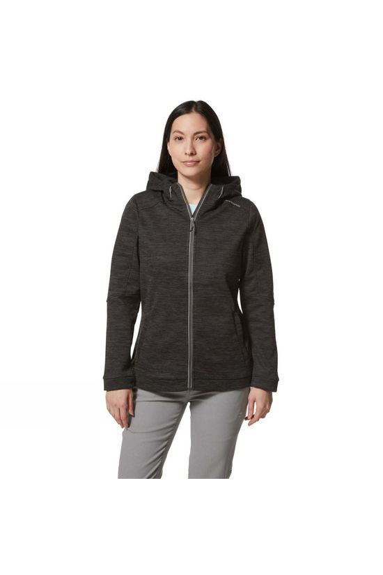 Craghoppers Womens Strata Jacket Black Pepper