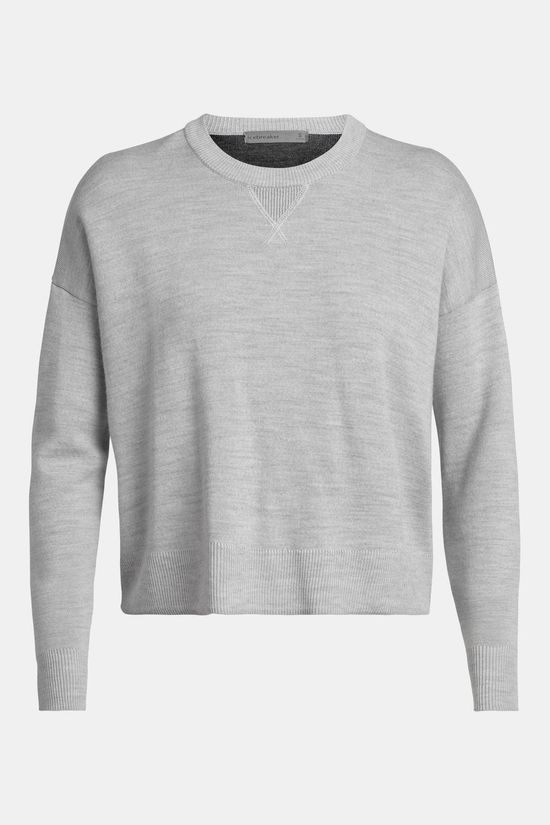 Icebreaker Carrigan Sweater Sweatshirt Steel Heather