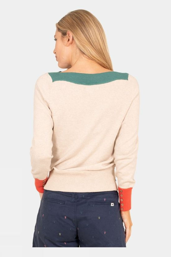 Brakeburn Womens Colour Block Jumper Multi
