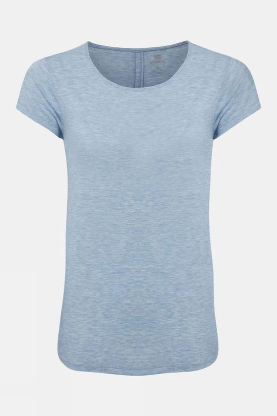 Sherpa Womens Asha Short Sleeve Tee Tilicho Blue