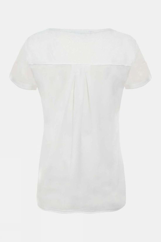 The North Face Womens Inlux Short Sleeve T-Shirt TNF White