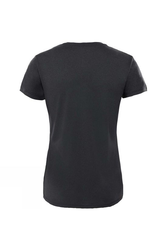 The North Face Women's Reaxion Amp Crew Shirt TNF Black Heather