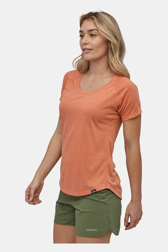 Patagonia Womens Capilene Cool Trail Shirt Mellow Melon