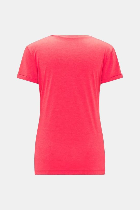 Haglofs Womens Ridge Hike Tee Hibiscus red