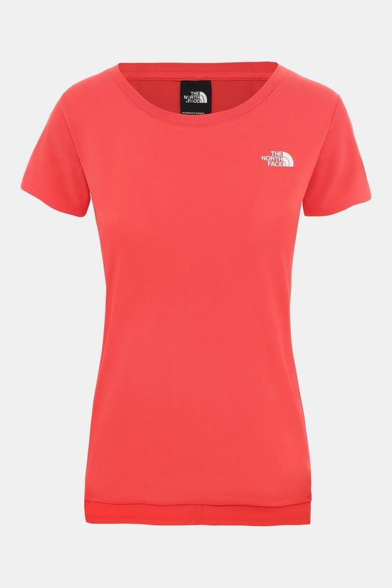 The North Face Women's Quest Tee Cayenne Red