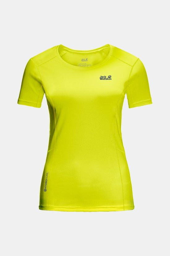 Jack Wolfskin Womens Narrows T-shirt Flashing Green