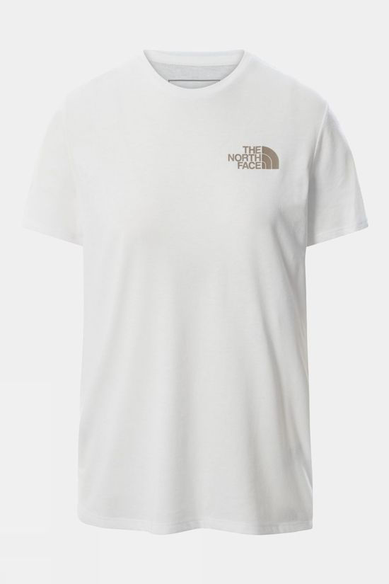 The North Face Womens Foundation Graphic Short Sleeve Tee TNF WHITE