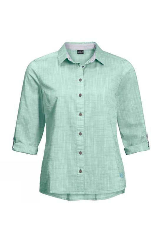 Jack Wolfskin Womens Emerald Lake Shirt Light Jade