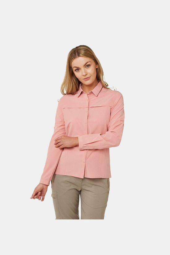 Craghoppers Womens NosiLife Pro Long Sleeve Shirt Rosette