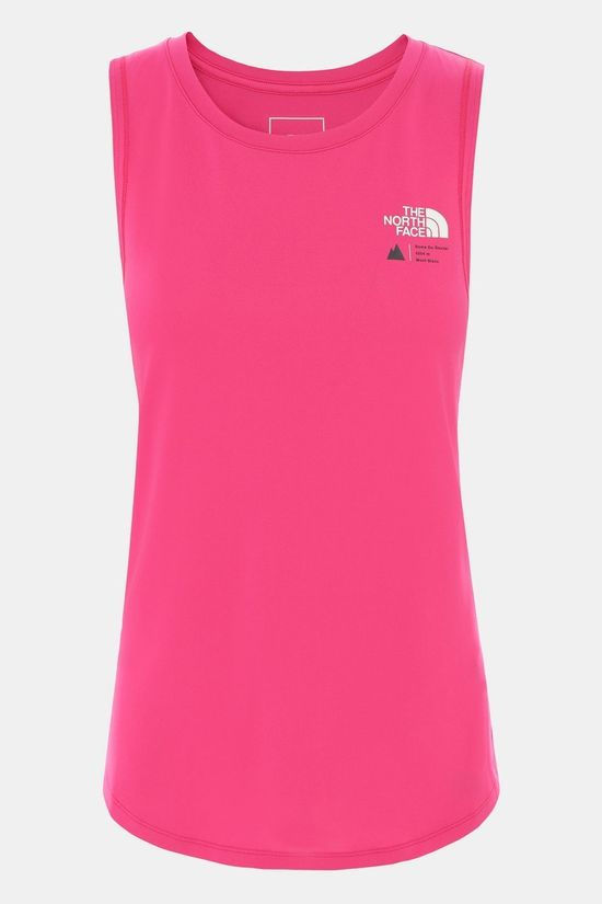 The North Face Women's Glacier Tank Top Mr. Pink