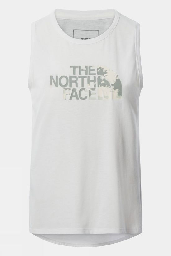 The North Face Womens Foundation Graphic Tank TNF WHITE