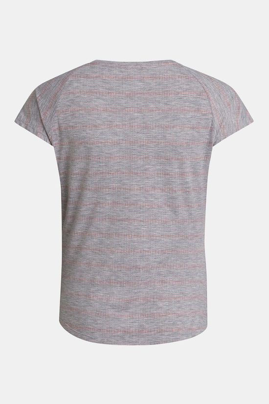 Berghaus Womens Explorer Optic Base Layer T-shirt Harbour Mist/Cayenne