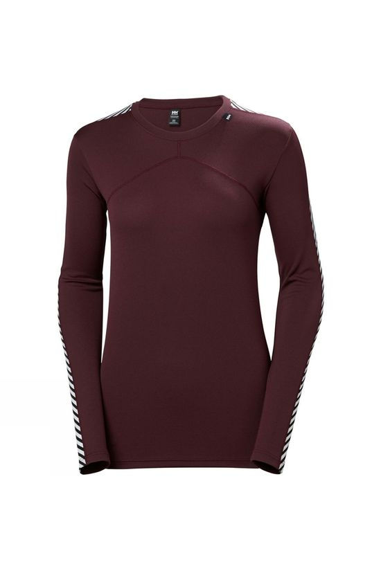 Helly Hansen Womens Lifa Crew Top Imperial Purple