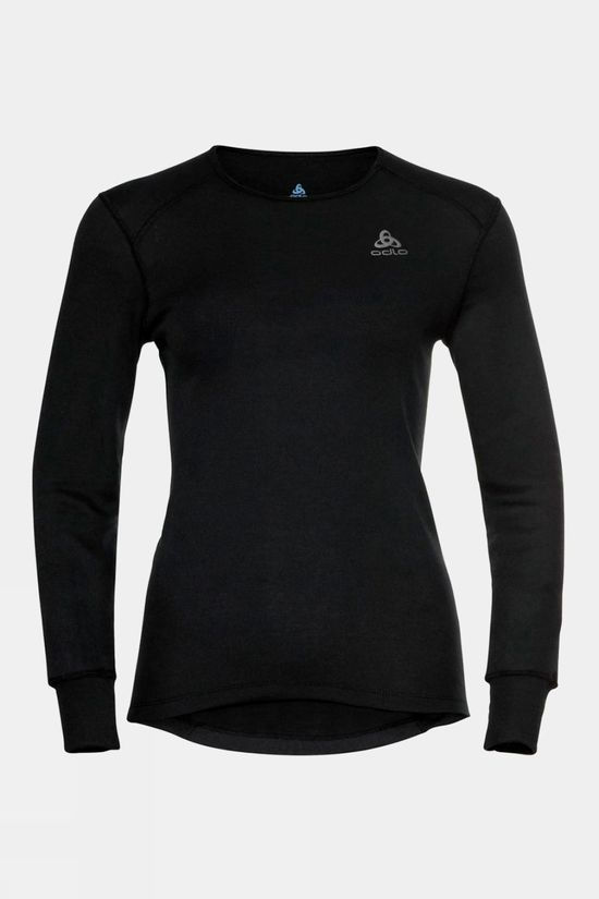 Odlo Womens Active Warm Eco 3/4 Baselayer Set Black