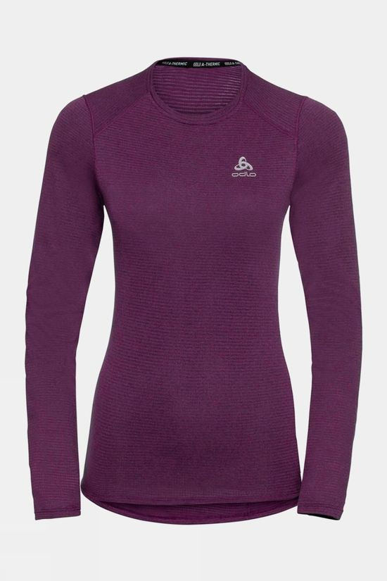 Odlo Womens Active Thermic Long-Sleeve Baselayer Charisma Melange