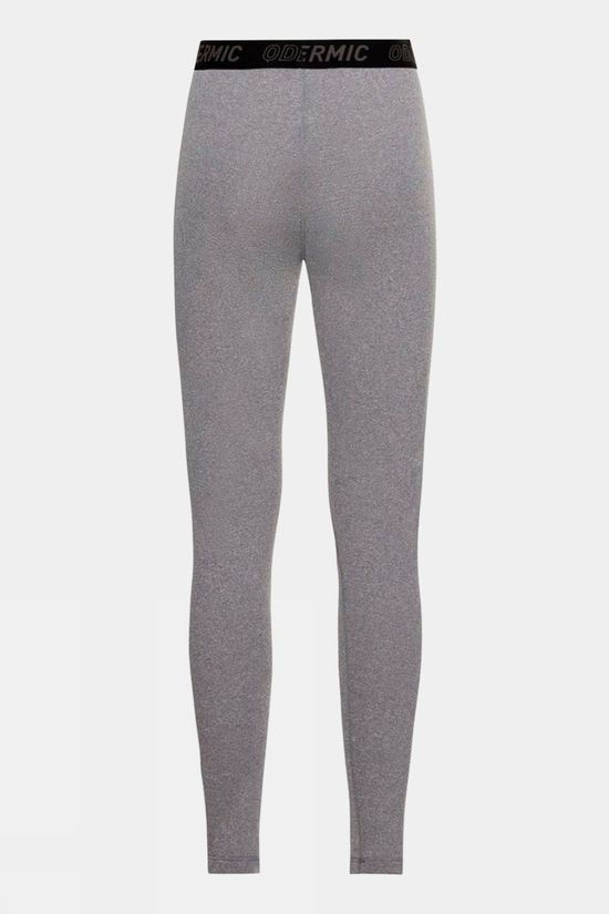 Odlo Womens Active Thermic Baselayer Bottoms Grey Melange