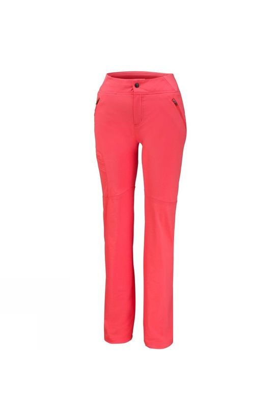 Columbia Womens Back Up Passo Alto Pants Red Coral