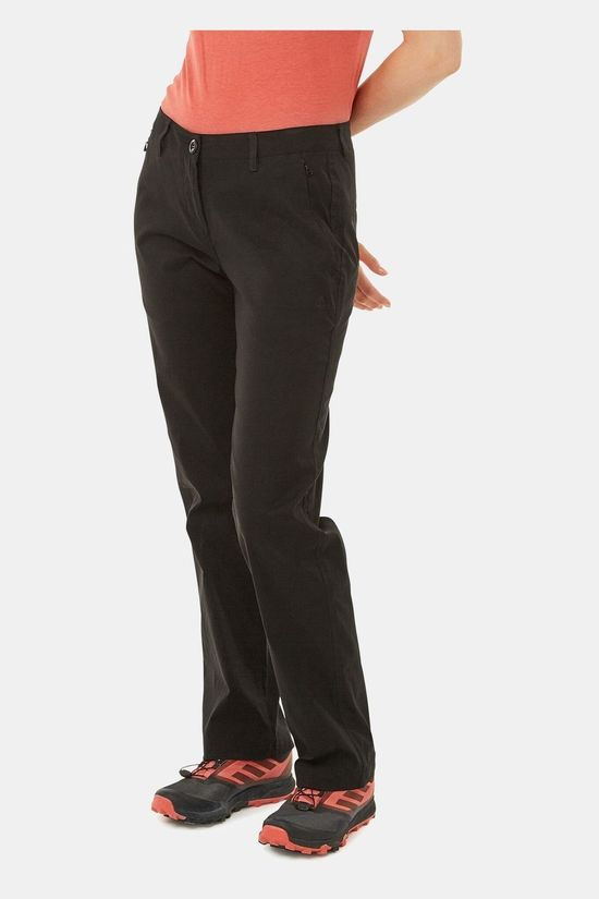 Craghoppers Womens Kiwi Pro II Trousers Black