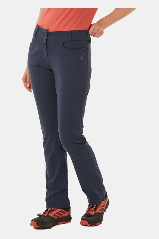 Craghoppers Womens Nosilife Clara II Trousers Soft Navy