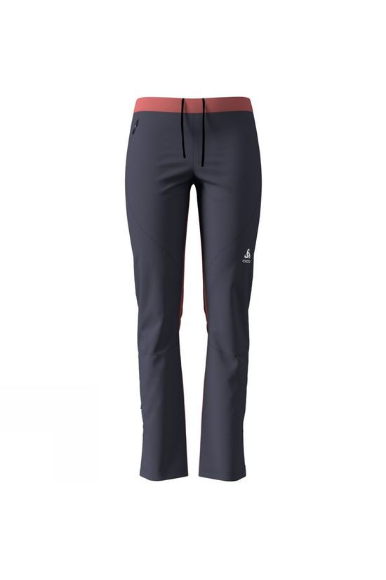 Odlo Womens Aeolus Element Pants Odyssey Gray - Faded Rose