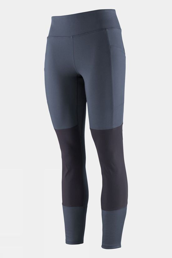 Patagonia Womens Pack Out Hike Tights Smolder Blue