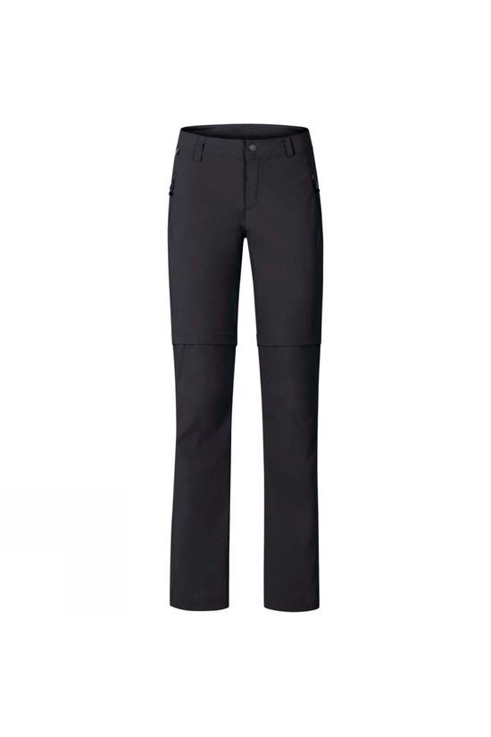 Odlo Womens Wedgemount Zip-Off Pants Black
